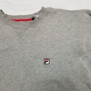 94c5d8b07c79 Fila Shirts - Fila sweatshirt filippo vintage gray crewneck XL